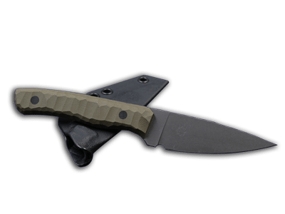 Attender: Lightweight Outdoor knife with fixed blade
